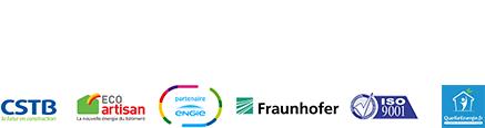 Certech, CSTB, Eco artisan, partenaire Engie, Fraunhofer, Iso 9001, Quelleenergie.fr
