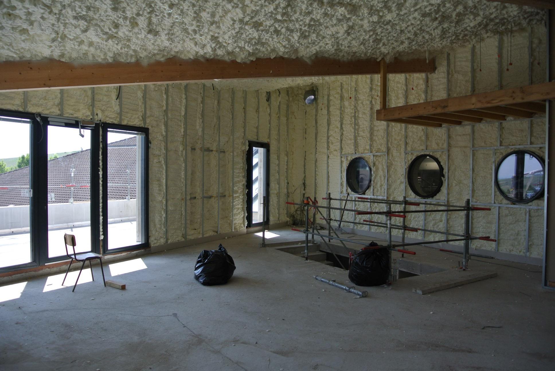 isolation cave vinicole sancerre isolation d 39 une cave vin dans le cher durabilis. Black Bedroom Furniture Sets. Home Design Ideas