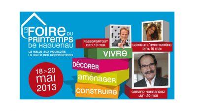 Programme foire printemps haguenau 2013