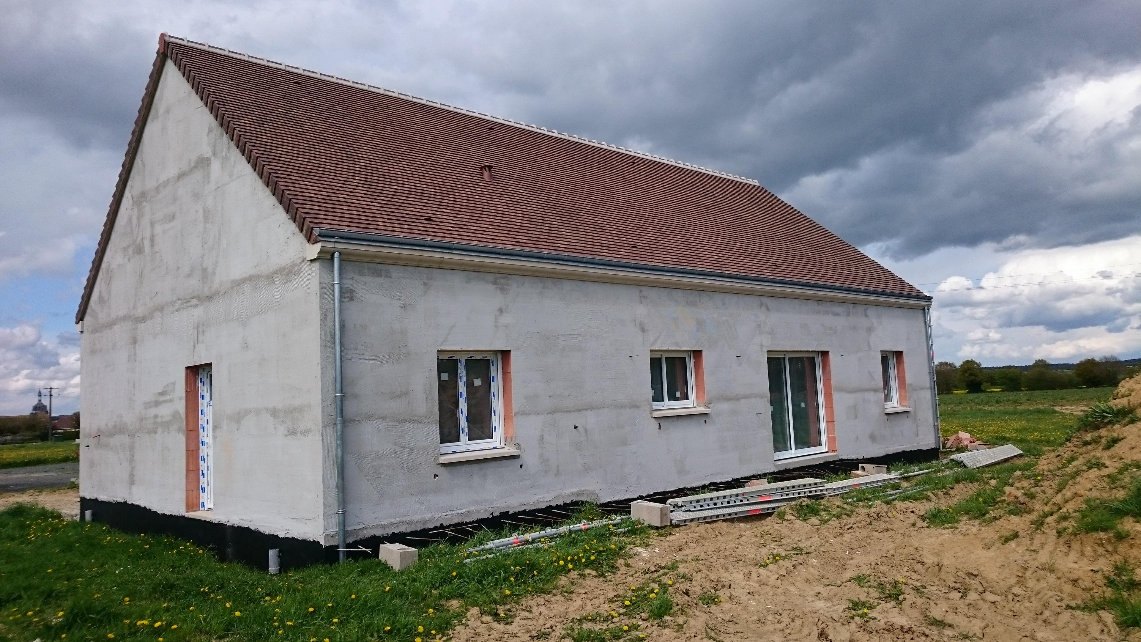 Isolation d 39 une construction neuve rt2012 entreprise d for Isolation maison neuve