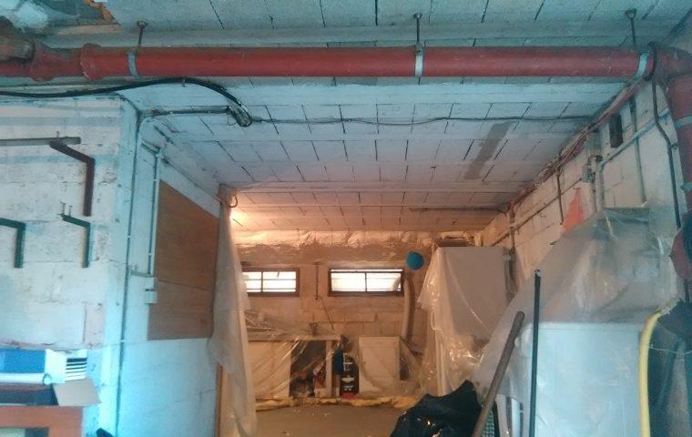 Isolation DUn Garage Par LIntrieur  Entreprise DIsolation Durabilis