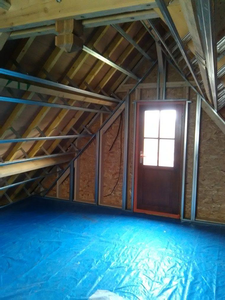 Isolation d 39 une toiture de garage entreprise d 39 isolation durabilis - Isolation toiture garage ...