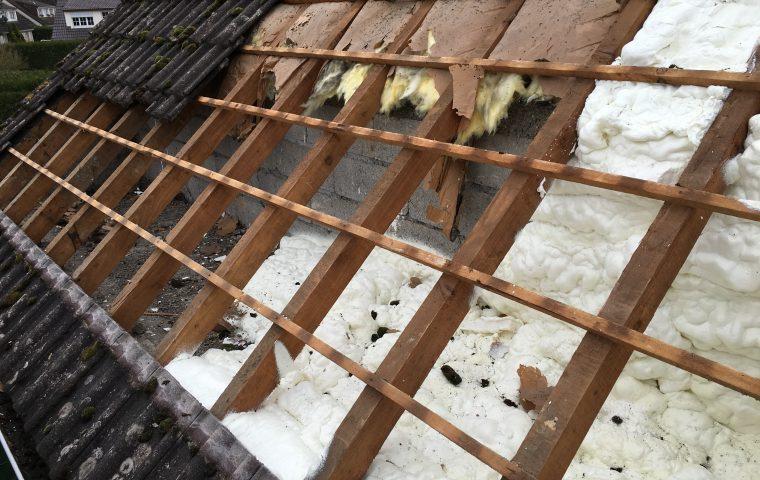 isolation d 39 une toiture par l 39 ext rieur entreprise d. Black Bedroom Furniture Sets. Home Design Ideas