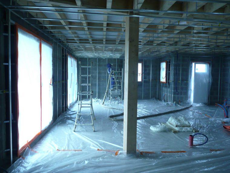 isolation d 39 une maison neuve avec rt 2012 entreprise d 39 isolation durabilis. Black Bedroom Furniture Sets. Home Design Ideas