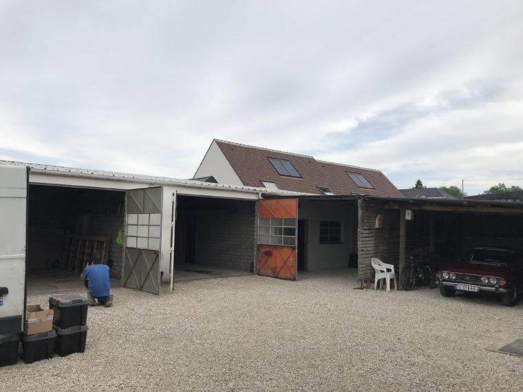 Isolation d 39 une toiture en bac acier d 39 un garage orl ans loiret entreprise d 39 isolation - Isolation toiture garage ...